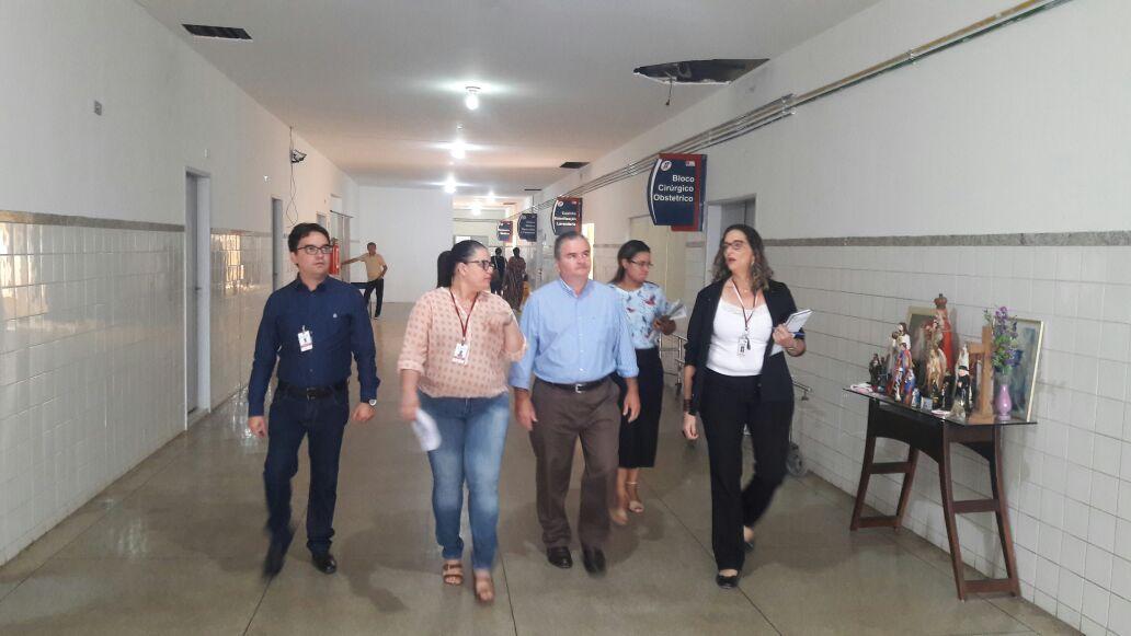 HREC recebe visita do Secretário de Saúde