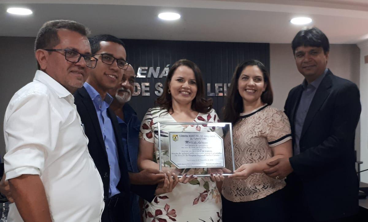 HREC recebe homenagem de municípios